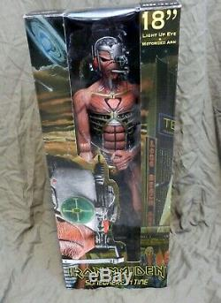 Iron Maiden 18 Tall Eddie Somewhere In Time Action Figure In Box Neca