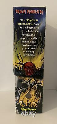 Iron Maiden Art Asylum Ultimate Series Eddie 18 Figure Toy 2002 NIB