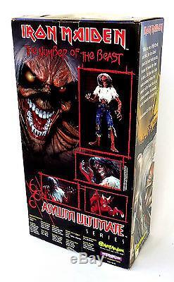 Iron Maiden-Eddie18 poseable Action Figure-2002 Art Asylum Ultimate Series