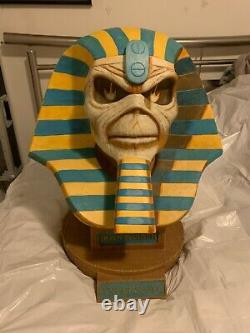 Iron Maiden Eddie Powerslave 20 Life Size Bust NECA Limited # 45 of 750 MINT
