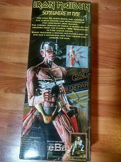 Iron Maiden NECA 18 Eddie Somewhere in Time Figure Rare New in Box Light Up Eye