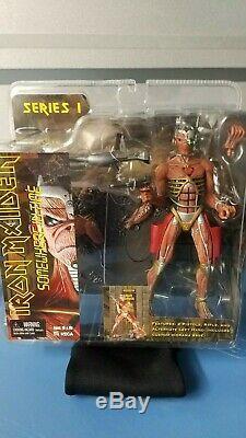 Iron Maiden NECA figures lot