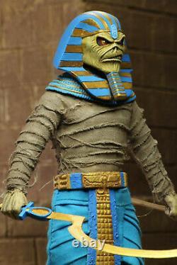 Iron Maiden Powerslave Pharaoh Eddie 8 20 cm Clothed Action Figur NECA