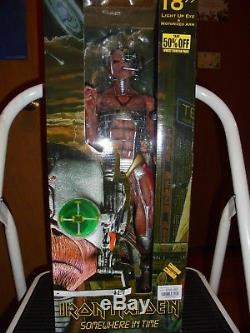 Iron Maiden SOMEWHERE IN TIME 18 with Light up eye Action Figure NECA 2005