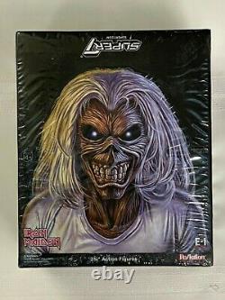 Iron Maiden Super 7 ReAction 12 blind box case Figure New Sealed