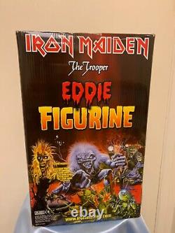 Iron Maiden The Trooper Eddie 12 inch Figure Top Shelf Collectables Limited MIB