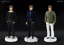 JOHN LENNON 1/6 Scale Molecule Imagine Collectible Figure With2 Heads & 3 Outfits