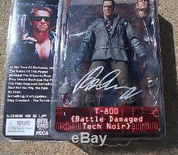 JSA Terminator ARNOLD SCHWARZENEGGER Signed Autographed Action Figure