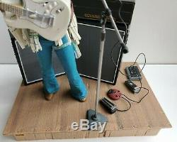 Jimi Hendrix Lot Mcfarlane Figures 2003 & 2004 Woodstock & Monterey Complete