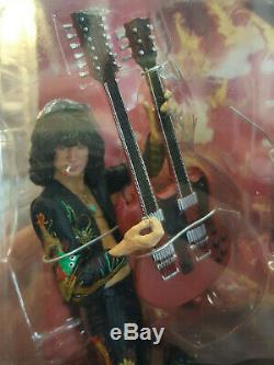 Jimmy Page Action Figure Brand New 2006 Led Zeppelin Classicberry Limited / NECA