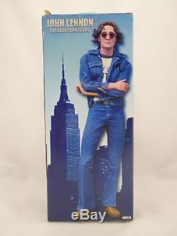 John Lennon The Beatles NECA The New York Years 18 Talking Figure Doll 2006 NIB