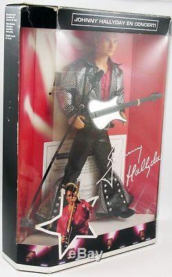 Johnny Hallyday Poupée 30cm Mattel 1995 (neuve en boite)