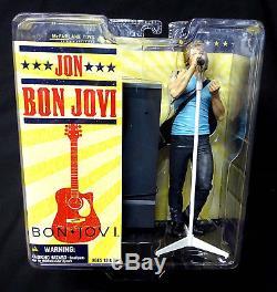 Jon Bon Jovi Action Figure New 2007 McFarlane Toys Amricons