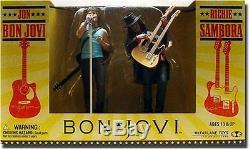 Jon Bon Jovi & Richie Sambora 2 Pack 6 Inch Action Figure Statue Toy New RARE