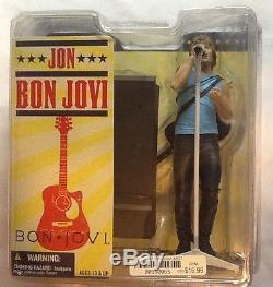 Jon Bon Jovi & Richie Sambora Action Figures Set of 2 McFarlane Toys