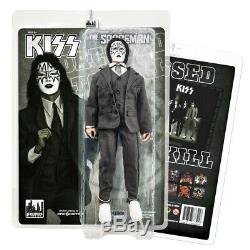 KISS 12 Inch Action Figures Dressed To Kill Re-Issue Series Set of all 4