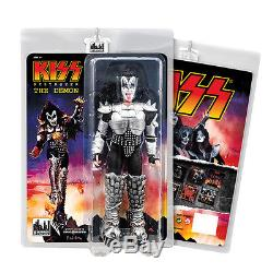 KISS 8 Inch Mego Style Action Figures Series Seven Destroyer Set of all 4