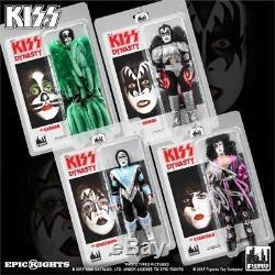 KISS 8 Retro Series 8 Dynasty Set of 4 Figures Mego