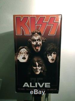 KISS ALIVE DELUXE Box Set Action Figures McFarlane Toys WOW! LIMITED