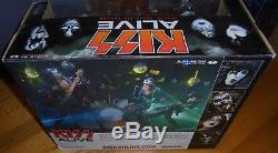 KISS ALIVE Special Boxed Edition Super Stage Figure Set McFarlane 2002 NEW