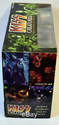 KISS Creatures McFarlane Deluxe Boxed Edition Action Figure Super Stage Set MISB