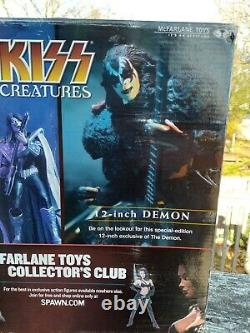 KISS Creatures of the Night stage figures limited edition McFarlane UNOPENED