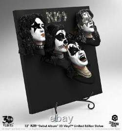 KISS Debut Album 3D Vinyl-KNU3DVKISS1-KNUCKLEBONZ