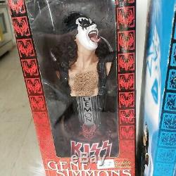 KISS Dolls Statues Set of 4 Mcfarlane toys Vintage 2002 8 each all New in box