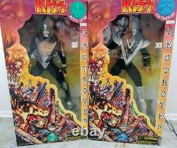KISS Limited Edition 24 Destroyer Figures 1998-Spencers SOLD AS SET of 4 ONLY