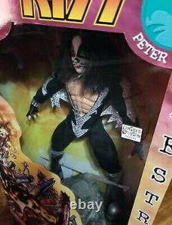 KISS Peter Criss Destroyer 24 Action Figure Doll NIB 1998 LIMITED EDITIONNICE