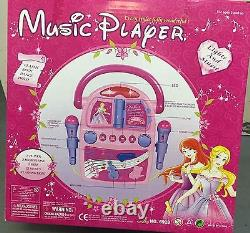 Kids Princess 22 Music Player Toy With & 2 Microphone great gift idea (6928)