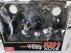Kiss Alive Limited Edition Box Set 2002 Super Stage Figures Mcfarlane Brand New