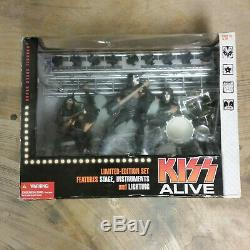 Kiss Alive Limited Edition Set Stage Instruments Figures, McFarlane Toys 2002