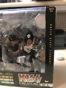 Kiss Creatures Special Boxed Limited Edition Super Stage Figures McFarlane 2002