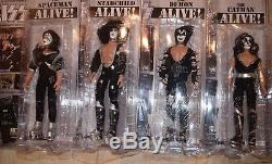 Kiss Figures Toy Company Mego Alive 12 inch Toys Dolls