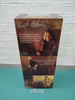 Kurt Cobain Nirvana 18 Inch Figure With Sound NECA Reel Toys New Unopened Sealed