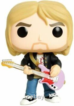 Kurt Cobain Nirvana Funko Music Pop! Rocks # 66 Limited Ed. Vinyl Action Figure