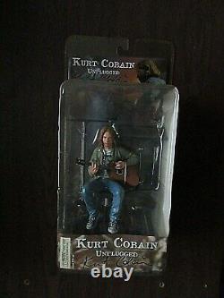 Kurt Cobain Unplugged Action Figure New