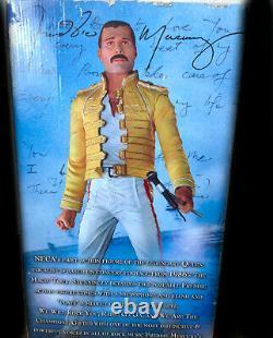 Large Freddie Mercury Action Figure 18 inches Rare