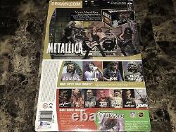 Lars Ulrich Rare Hand Signed Action Figure Todd McFarlane Metallica Orion + BAS