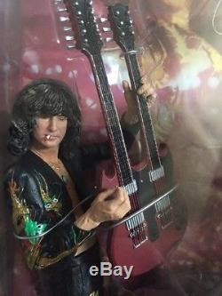 Led Zeppelin Jimmy Page Action Figure 2006 In Sealed Package By Neca