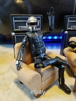 Loose Bandai Daft Punk S. H. Figuarts Rest Now Figures & Custom Set