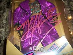 MC Hammer Rare Signed Toy Doll Action Figure Statue Rap Hip Hop Legend Photo COA