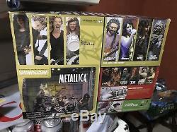 METALLICA Harvester of Sorrow Complete Band Box Set McFarlane Toys 2001