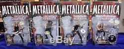 METALLICA Harvester of Sorrow Complete Set of 4 McFarlane Toys 2001 Band Figures