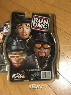 MEZCO RUN DMC 7 inch figure 3 body set Black Clothes Black hat