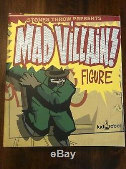 MF DOOM MADVILLAIN Figure Kid Robot Stones Throw Hip Hop Limited 2007 Green