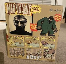 MF DOOM MADVILLAIN Figure Kid Robot Stones Throw Hip Hop Limited 2007 Green Rare