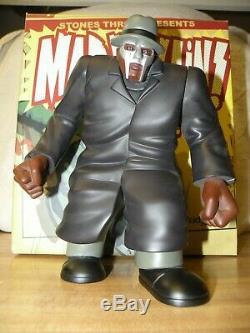 MF DOOM MADVILLAIN Figure Kid Robot Stones Throw Hip Hop Limited 2007 Grey