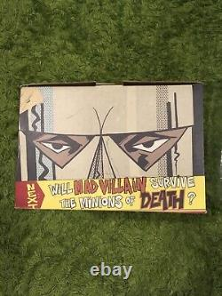 MF DOOM Madvillain Kidrobot Rappcats GREY NOS FIGURE RARE Stones Throw RIP